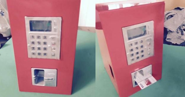 Terminal infochiosc pentru emiterea facturilor pentru Auchan