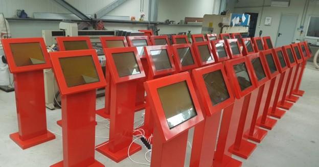 Terminale androidMARK folosite la emiterea facturilor în cadrul unui rețele de Hypermarket-uri