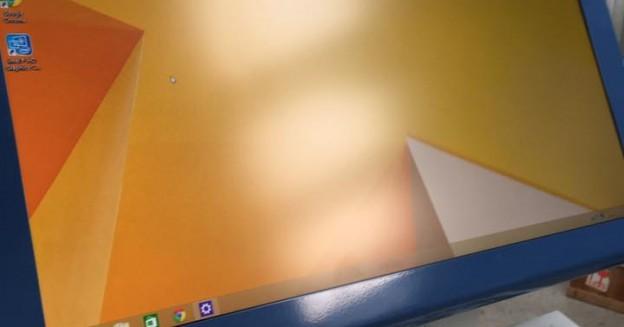 AndroidMARK cu ecran de 27 inch si  tastatura metalica cu trackball