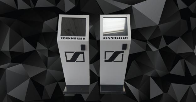 Terminale presentMARK 19″ pentru  SENNHEISER
