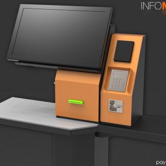 "Primul model de terminal infochiosc dedicat platilor POS ""unattended"""